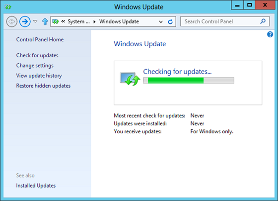 WindowsUpdateWinServer2012